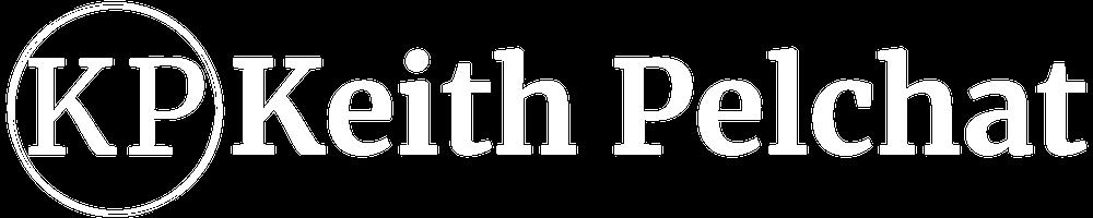 Keith Pelchat Logo Wide- Merriweather - Reverse - Transparent