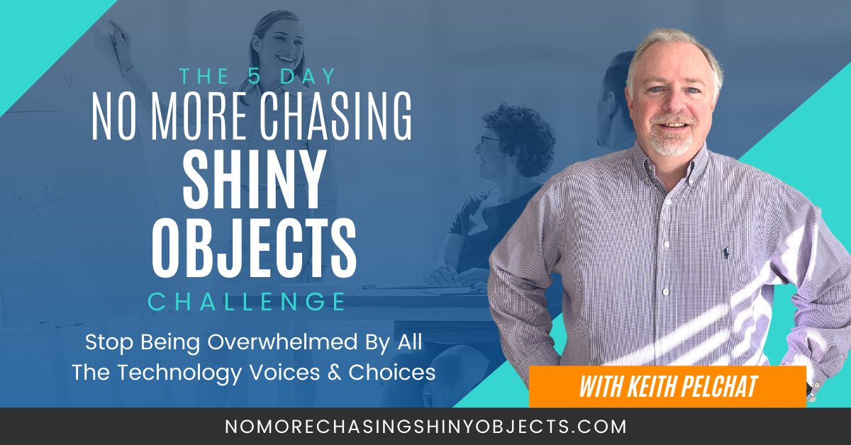 No More Chasing Shiny Objects Challenge